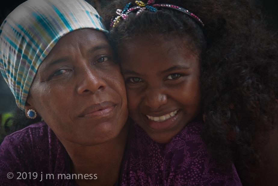 Marqueza with Carmen (daughter) - Cartagena